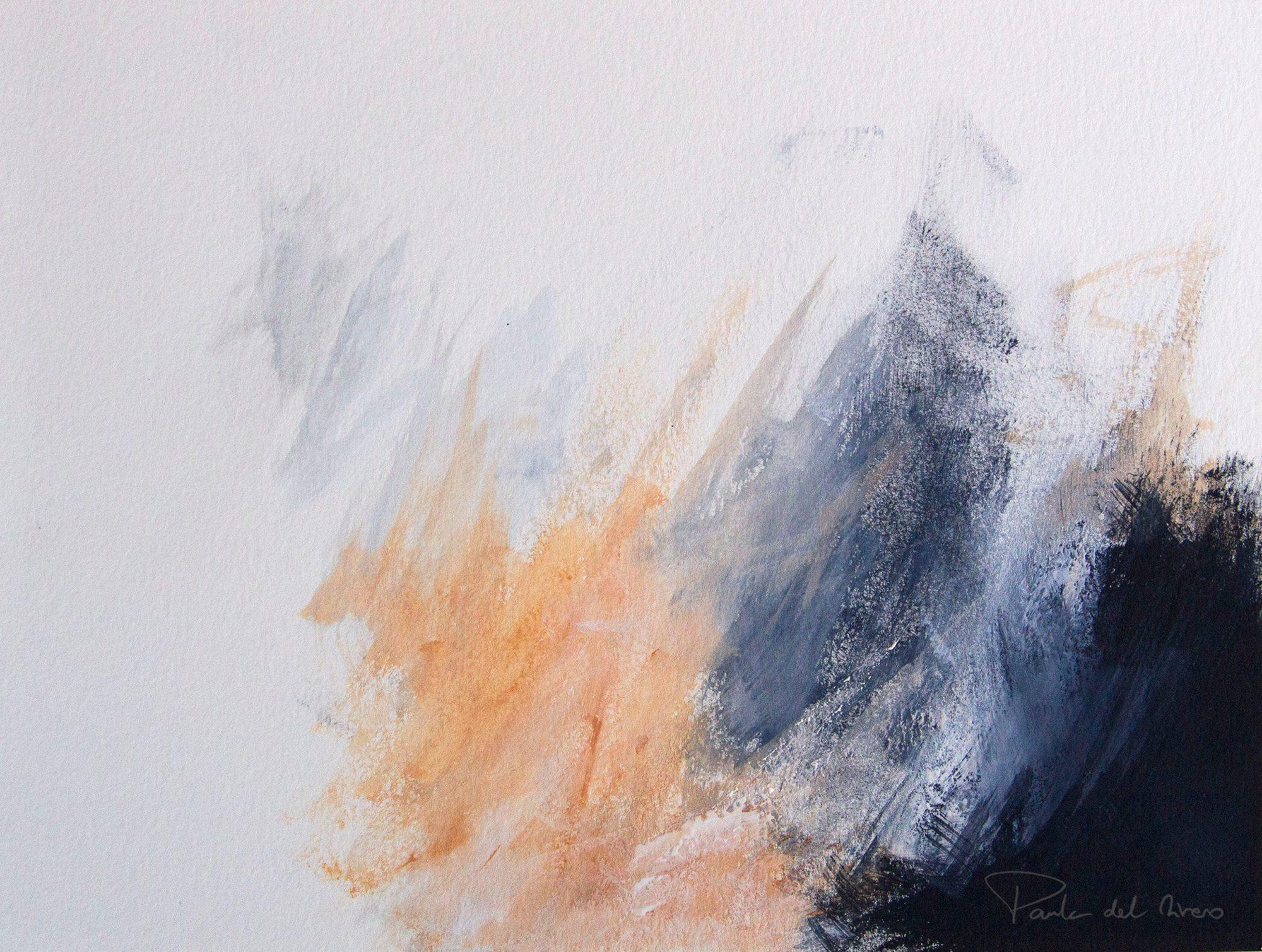 Paula del Rivero - Contemporary abstract art - 'Heaven's Pond V'